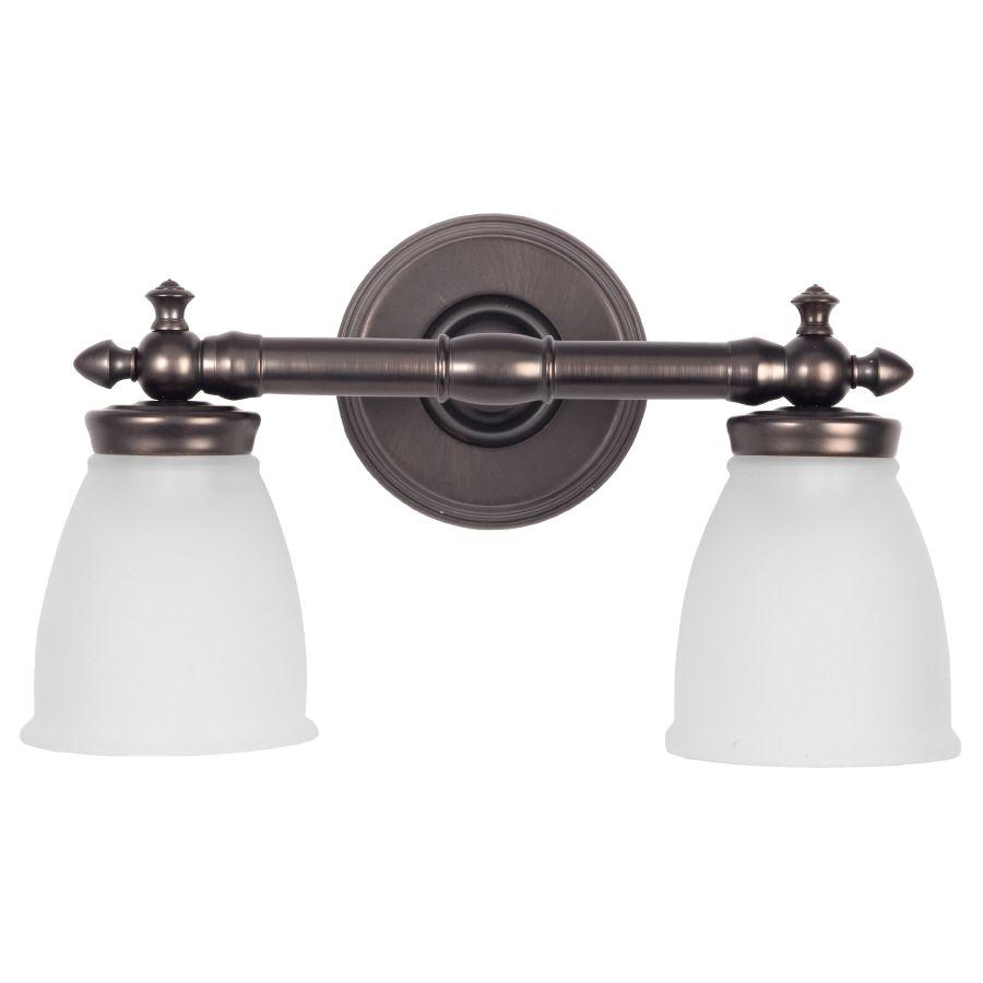 hall bath 2 over mirror delta 2 light 9 5 in vanity light