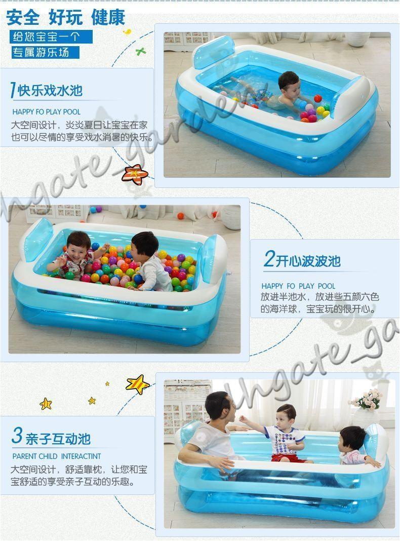 inflatable bathtub folding tub thickening adult bathtub child bath basin bath bucket plastic pvc swimming pool