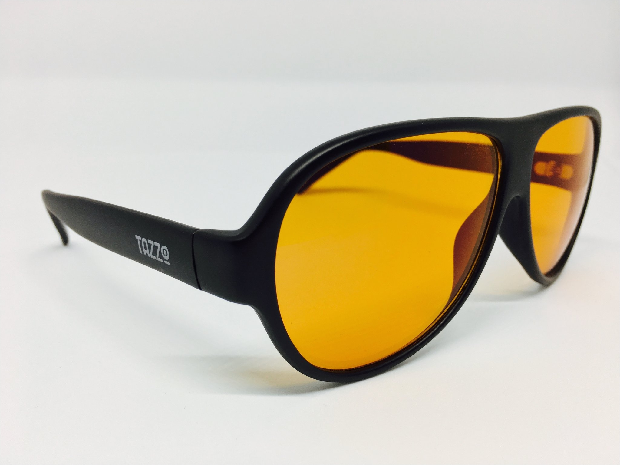 matt black aviator 100s blue light blocking glasses
