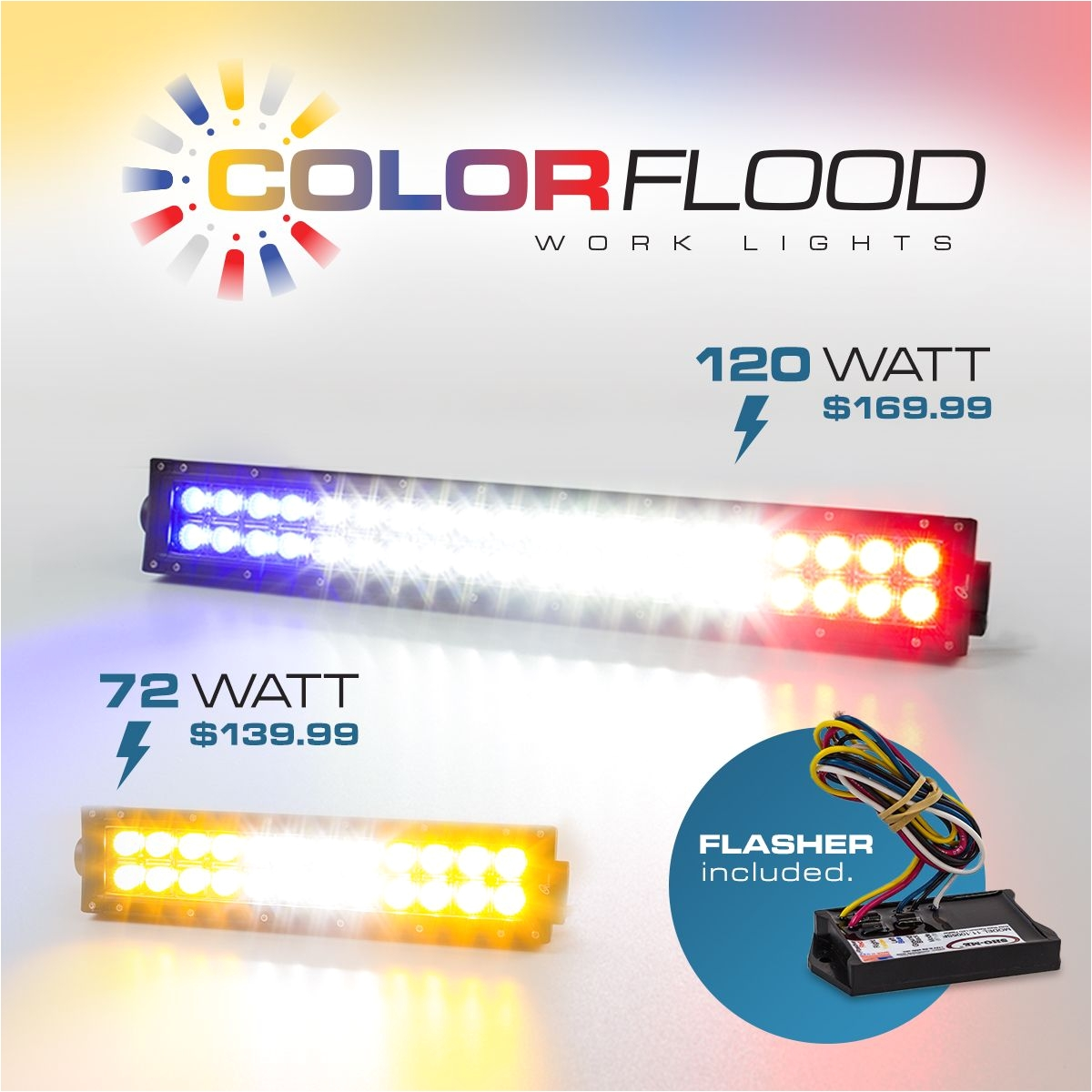 ultra bright lightz ubl color flood work lights www ultrabrightlightz com