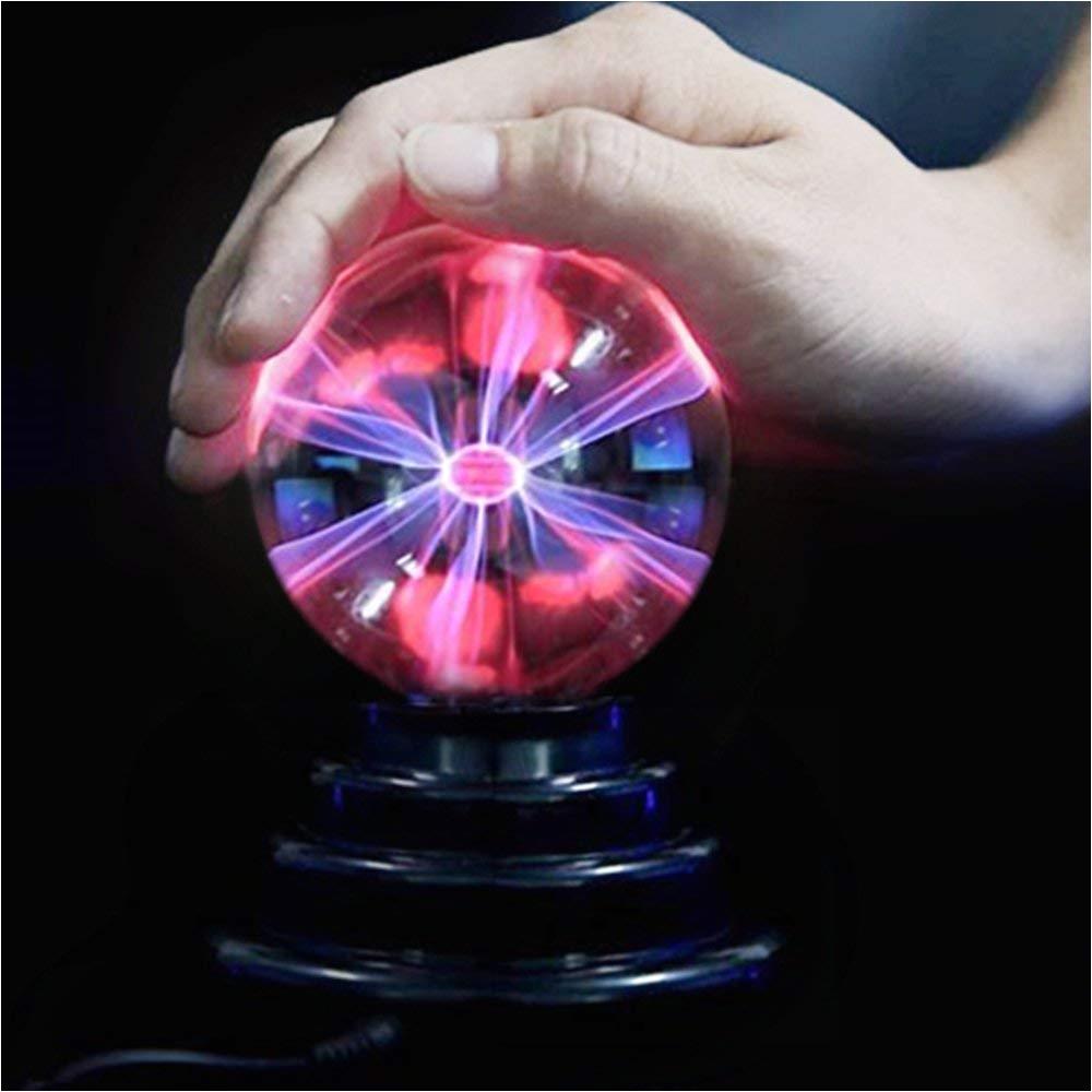lampara de plasma solmore magica de descarga elactrica bola de plasma para nia±os decoracionesregalos de fiestadormitorios cumpleaa±os por usb