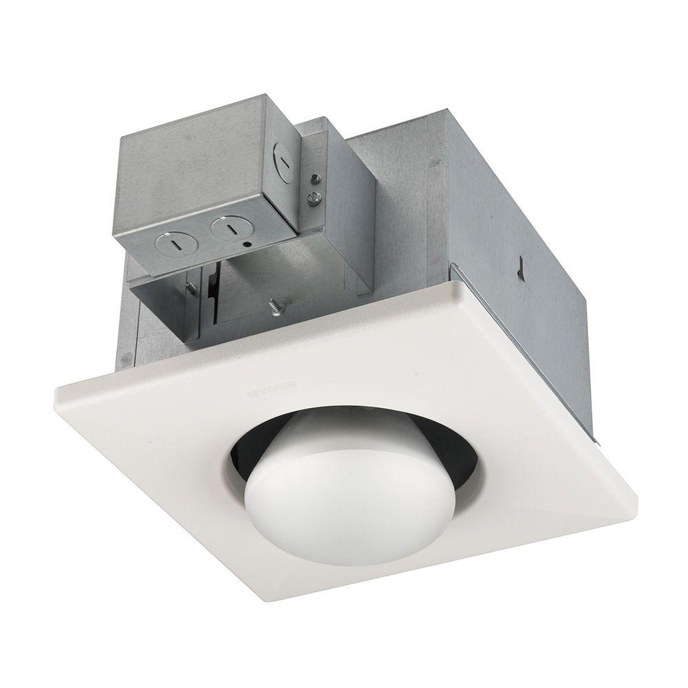 Broan Heat Lamp 161 Broan 250 Watt Infrared 1 Bulb Ceiling Heater 161 the Home Depot
