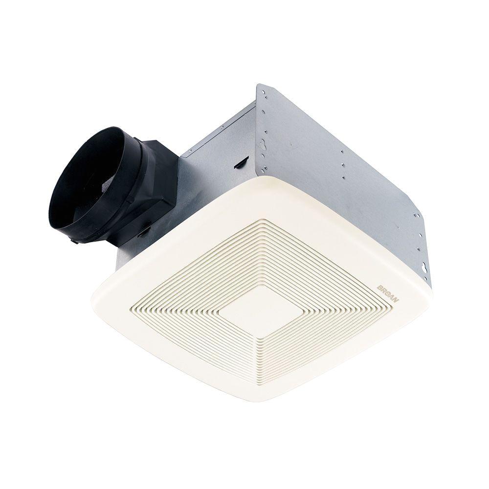 qt series quiet 150 cfm ceiling bathroom exhaust fan energy star