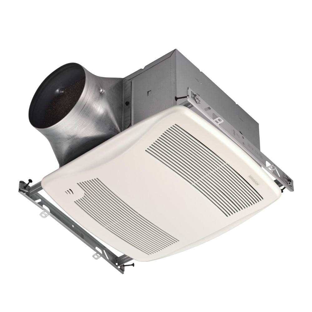 Broan Heat Lamp Exhaust Fan Bath Fans Bathroom Exhaust Fans the Home Depot
