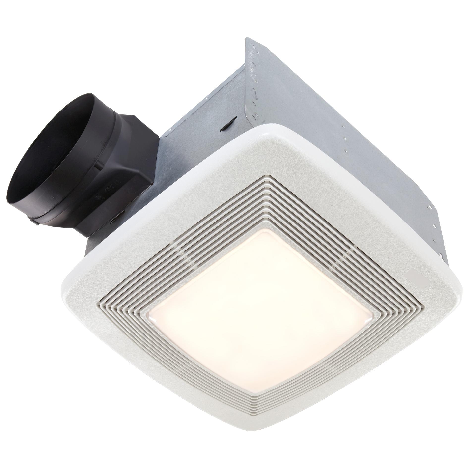 broan nutone qtxe110flt ultra silent bathroom fan light night light