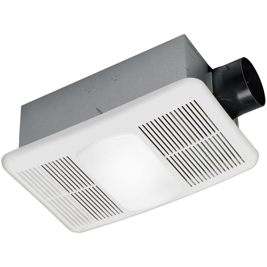 utilitech heater 1 5 sone 80 cfm white bathroom fan with heater