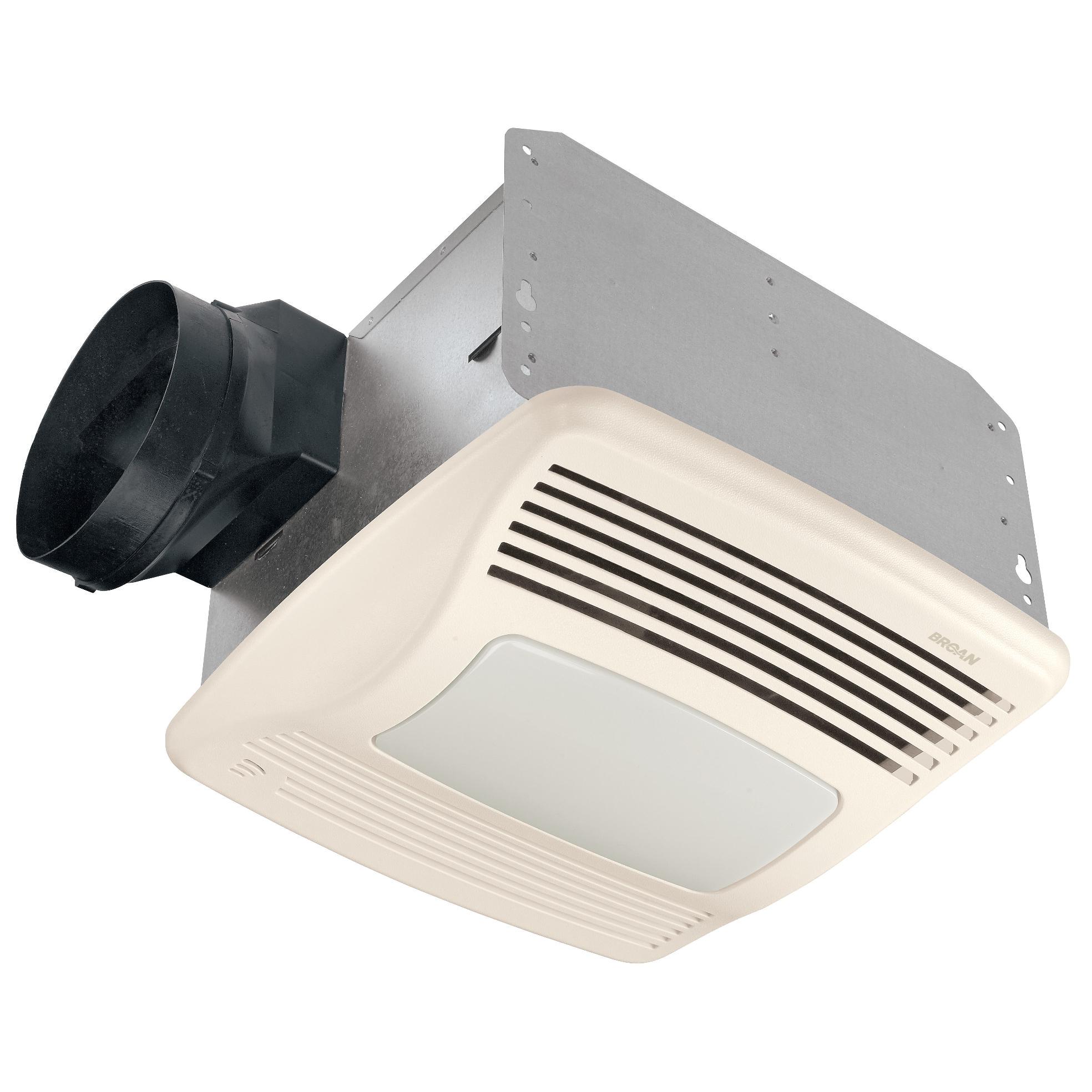 amazing bathroom exhaust fan with heat lamp in broan qtxe110s ultra silent humidity sensing auto f bath fan