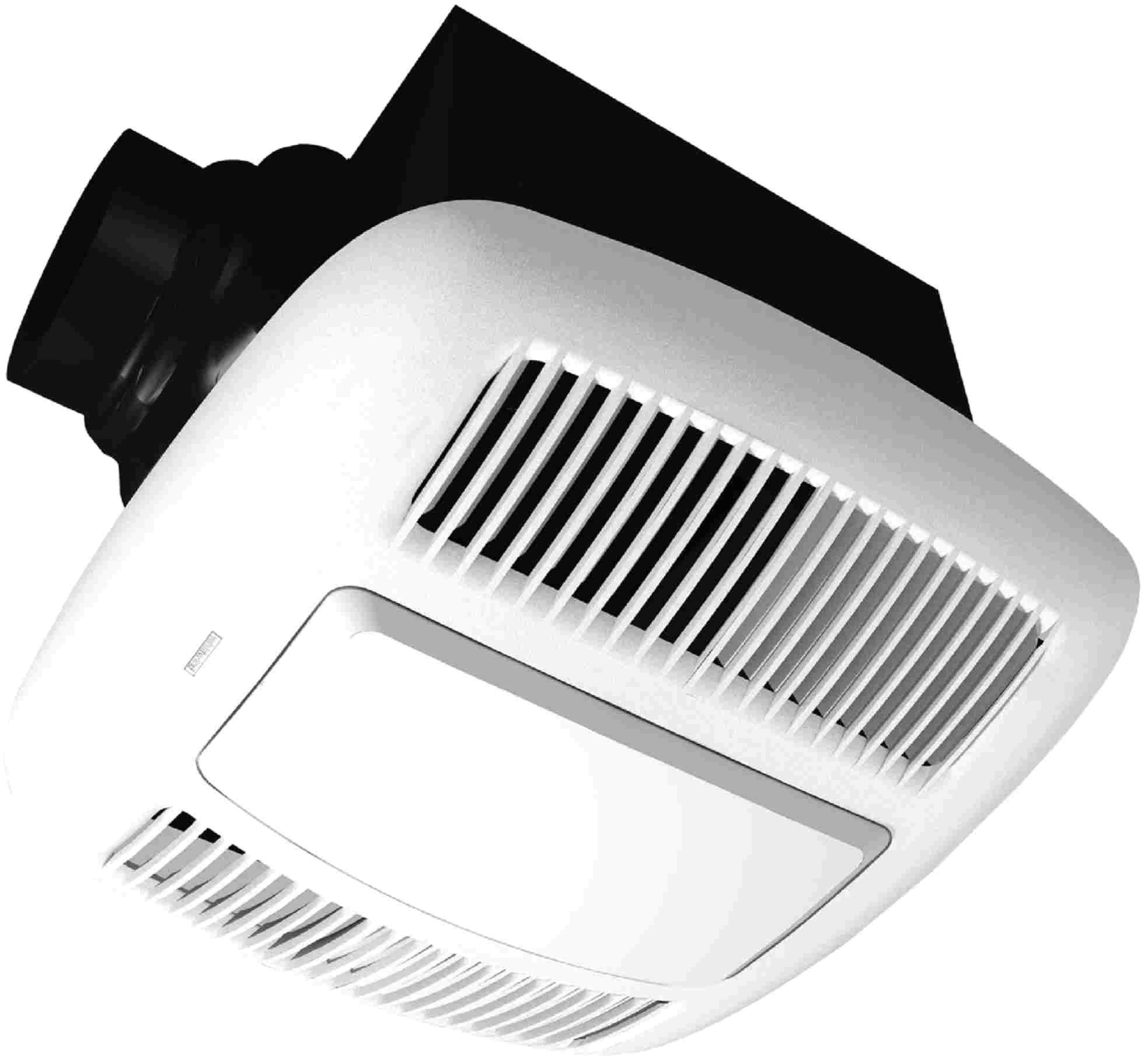 awesome broan bathroom fan light with orbit od110l bathroom fan 110 cfm deluxe series w light