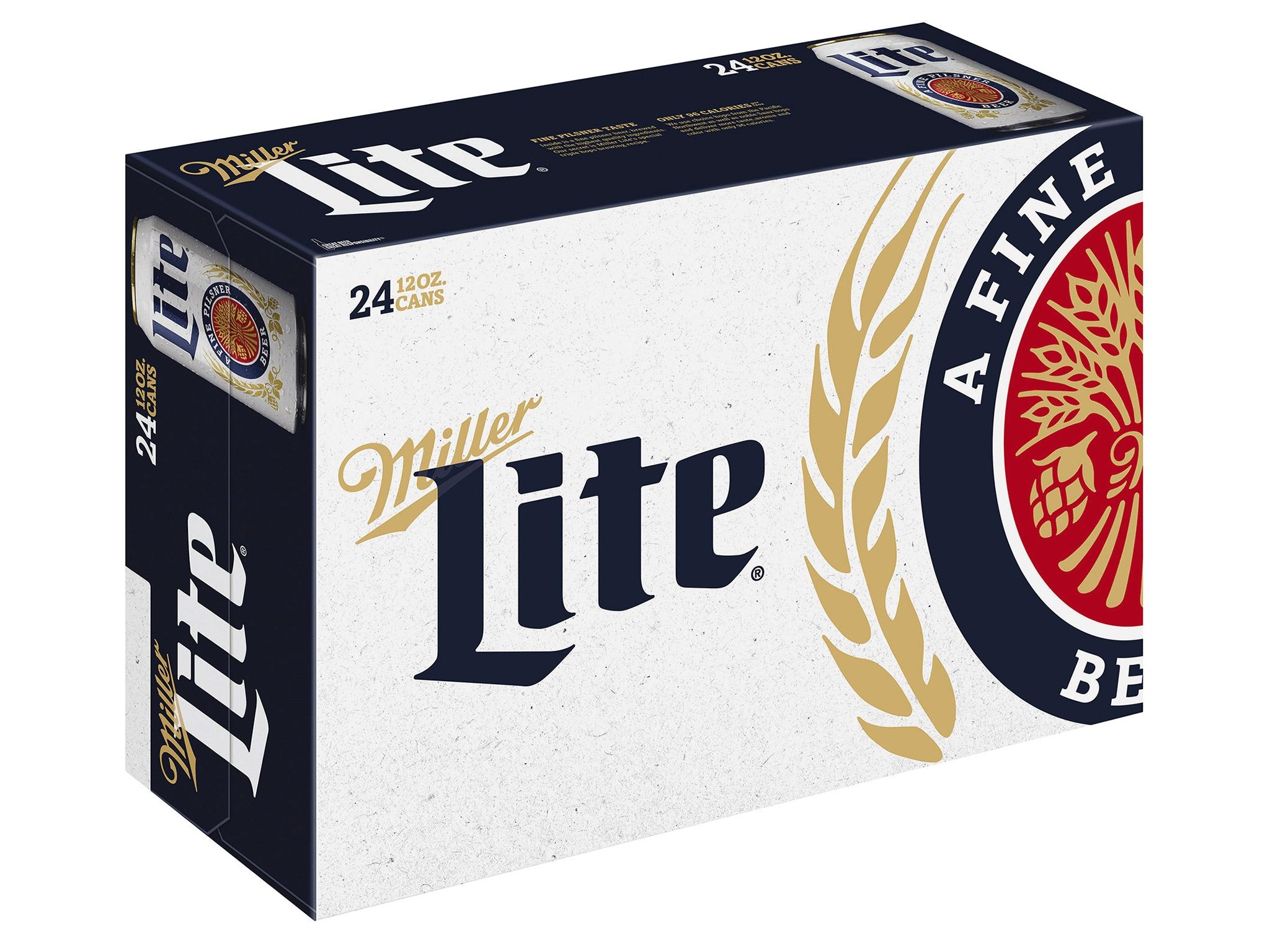 miller lite lager beer 24 pack 12 fl oz cans 4 2 abv