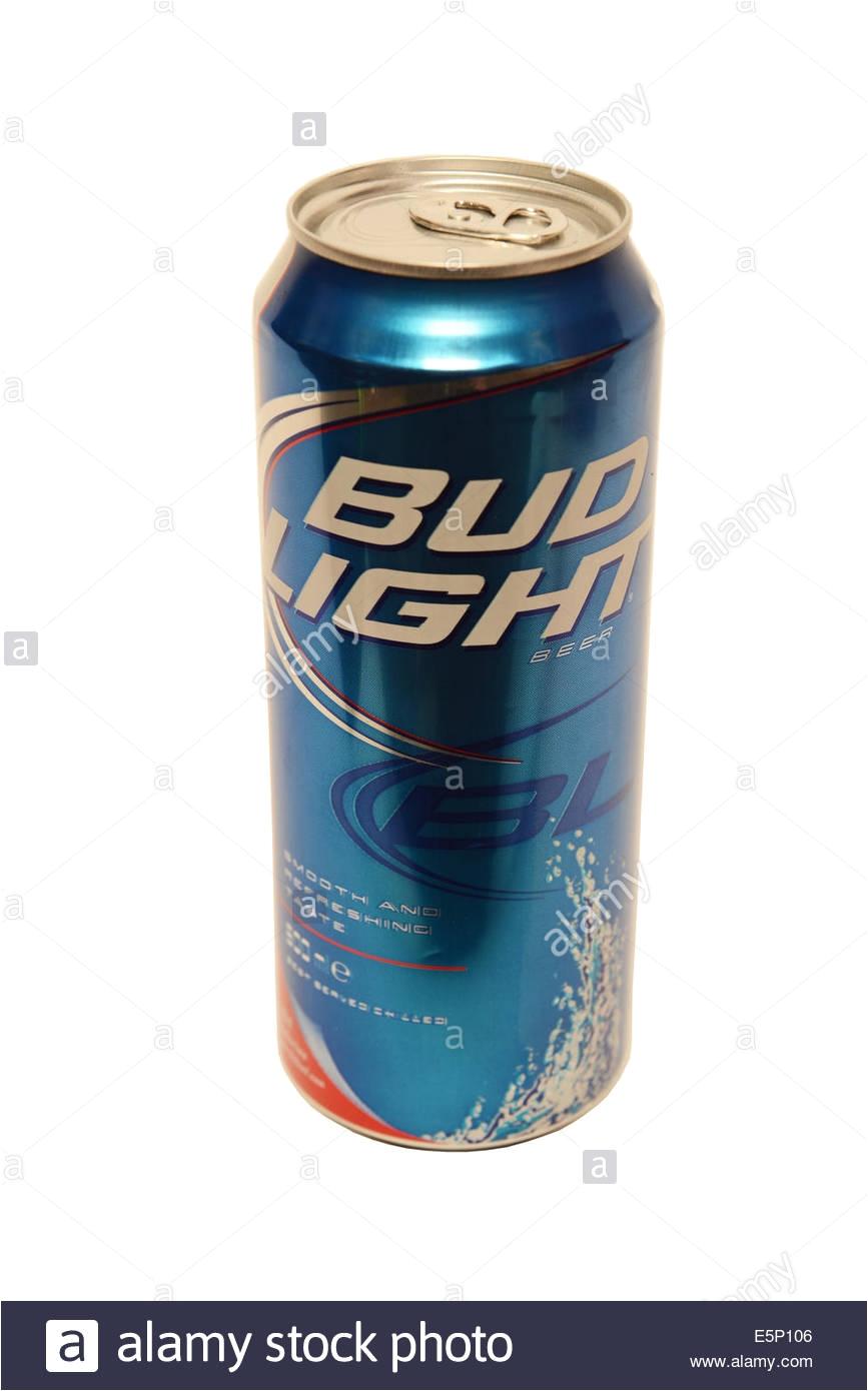 bud light beer stock image