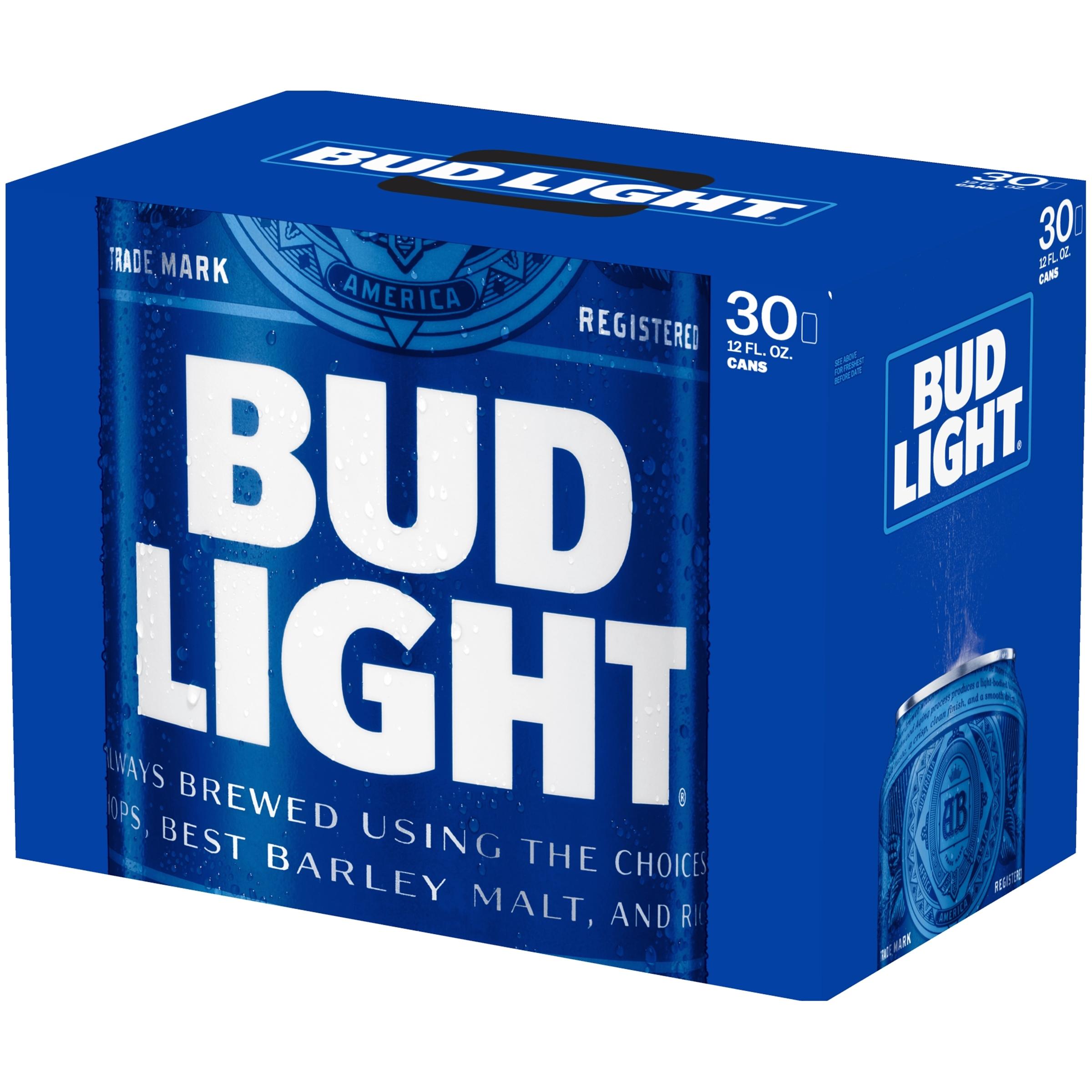 bud light beer 30 pack 12 fl oz com