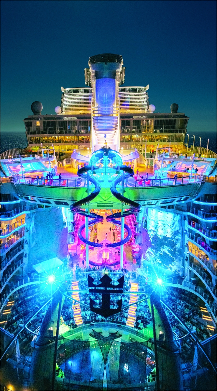 harmony of the seas every night comes alive aboard the worlds largest cruise