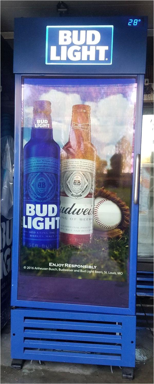 Bud Light Mini Fridge Bud Light Tv Door Cooler Fridge Refrigerator