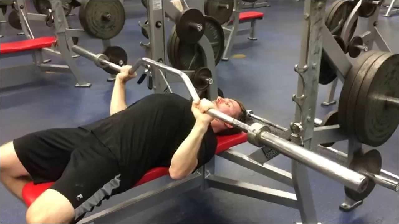 cambered bar bench press tutorial