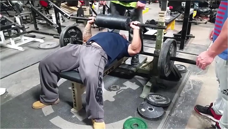 cambered squat bar bench press