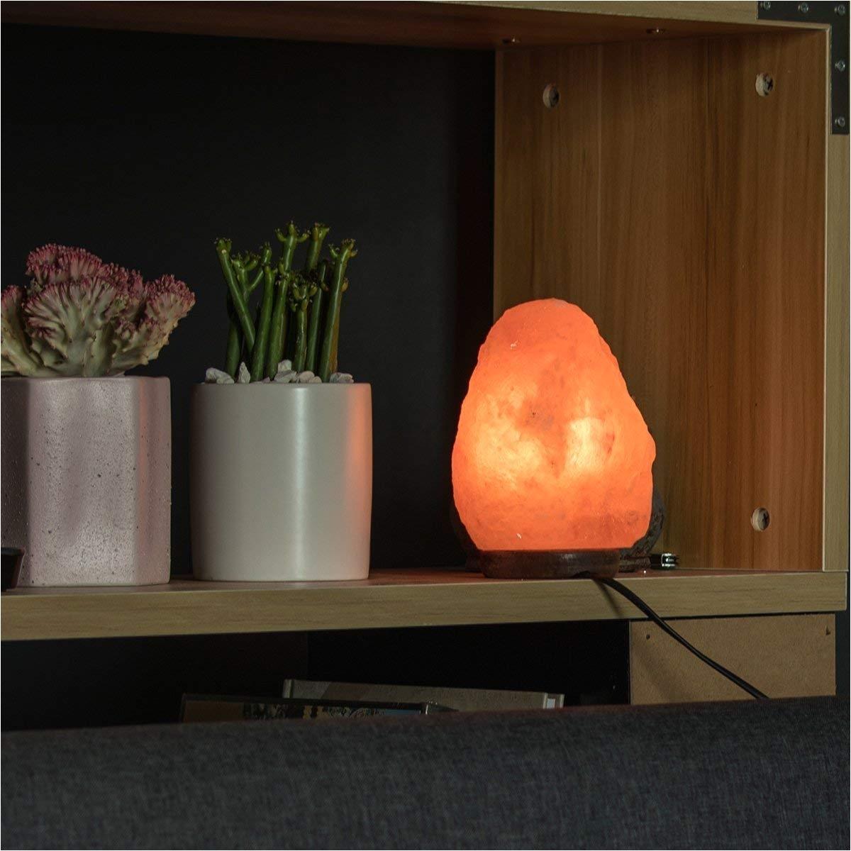 amazon com himalayan glow salt lamp salt lamp 3 5 pound 2 5 pound toys games