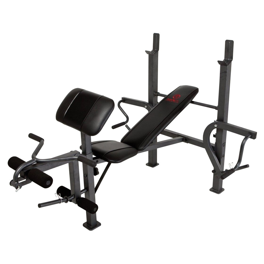 marcy diamond md 389 standard bench with butterfly weight bench