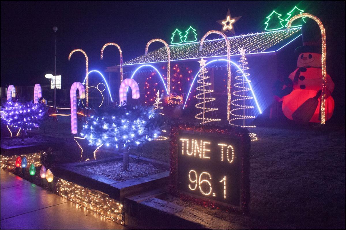 holiday light decorations