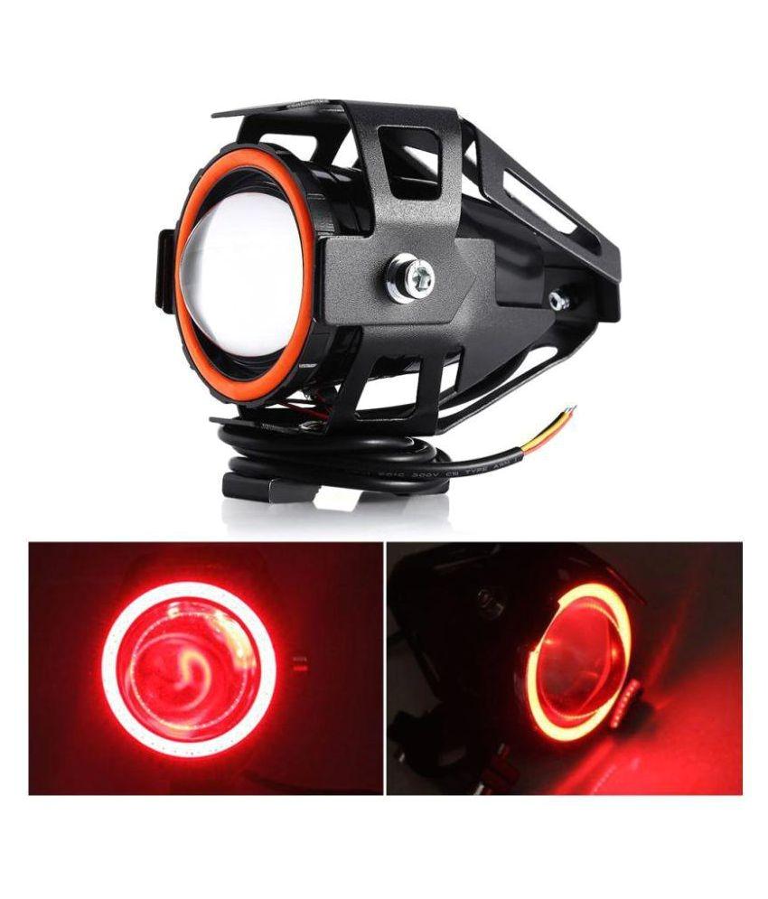 allextreme u7 led fog light bike driving drl fog light spotlight high low beam