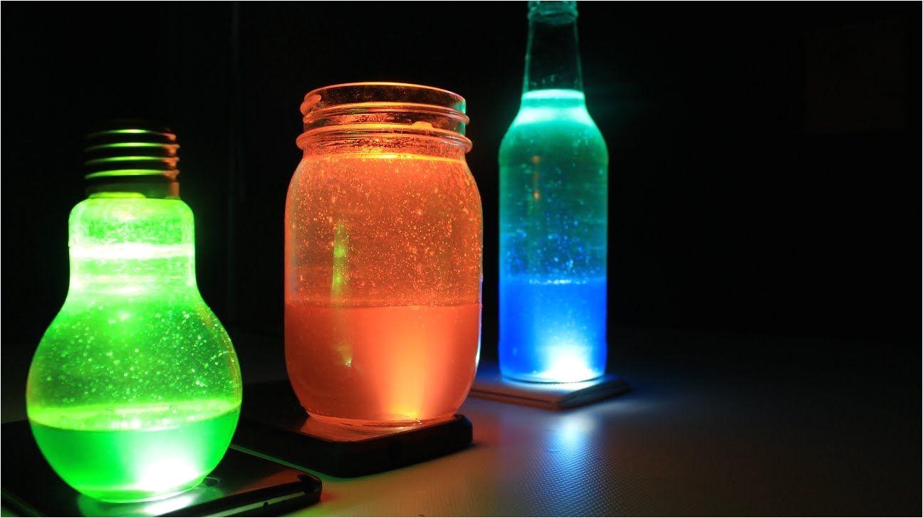 crea lampara de lava casera con tu movil kimy love