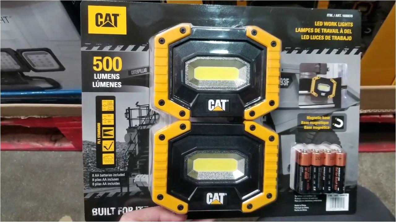 costco cat led worklight w magentic base 2pk 19
