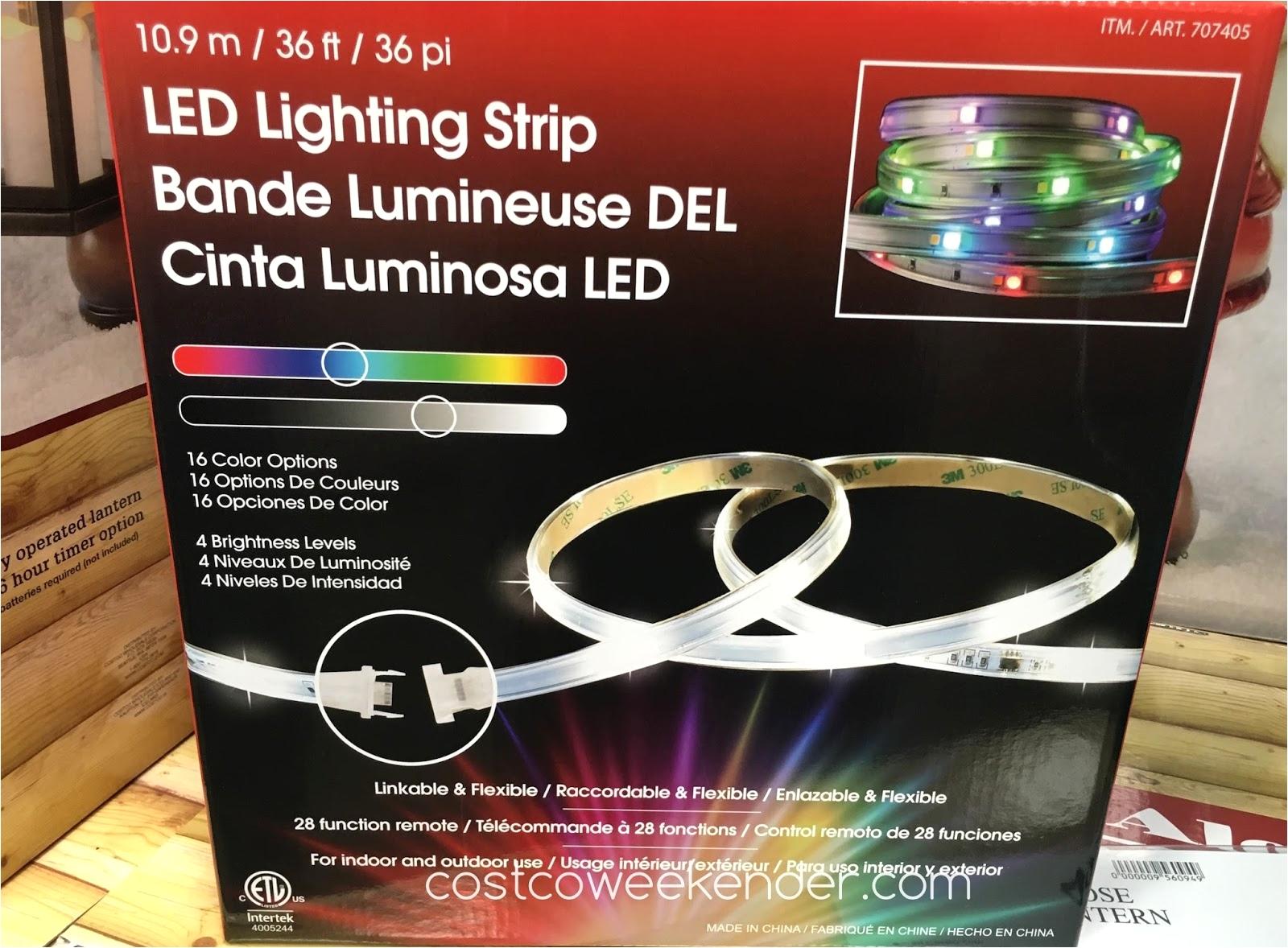 4 led shop light costco costco sunbeam led under cabinet lighting