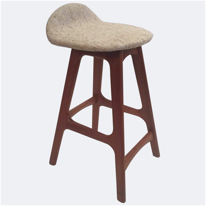 erik buck counter height bar stool with woollen seat