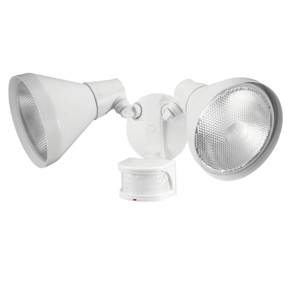 110 degree white motion sensing outdoor security light