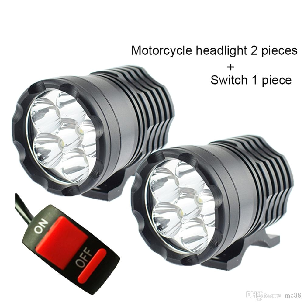 motorcycle led headlights 12v 60w 10000lm u2 led motorbike beam headlight bulbs moto spot head light auxiliary lamp drl headlight bulbs car headlights light