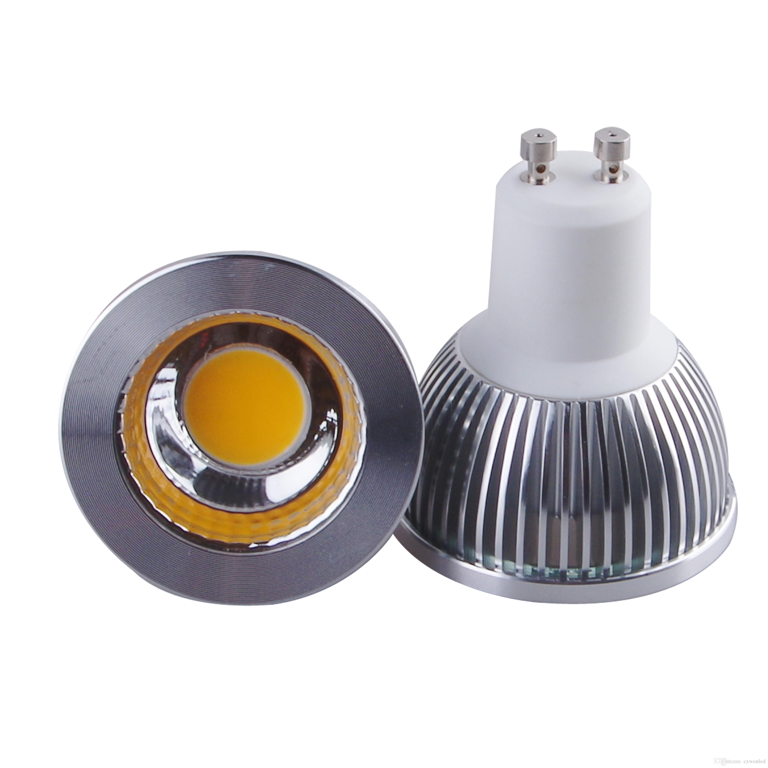 dimmable gu10 mr16 e27 gu5 3 cob led bulb light 5w led spot bulbs down lights lamp ac85 265v 12v dimmable spot light mr16 led spot light led spot bulbs