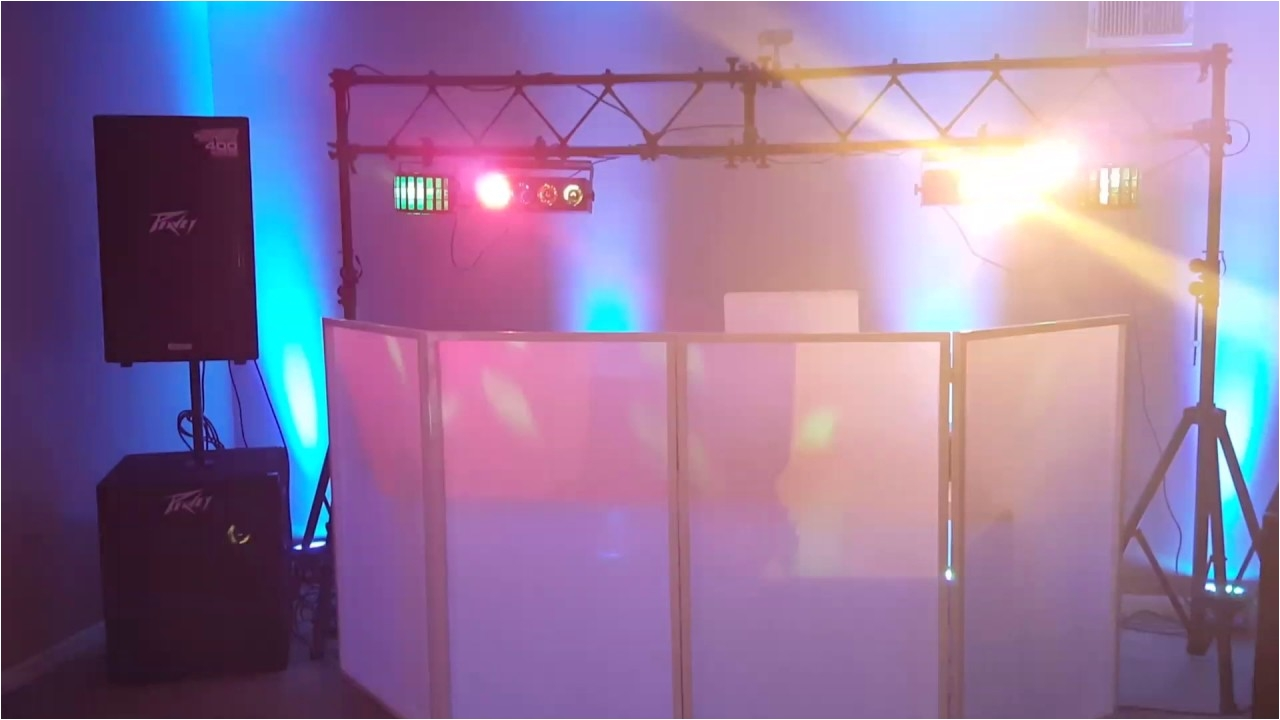 american dj facade setup