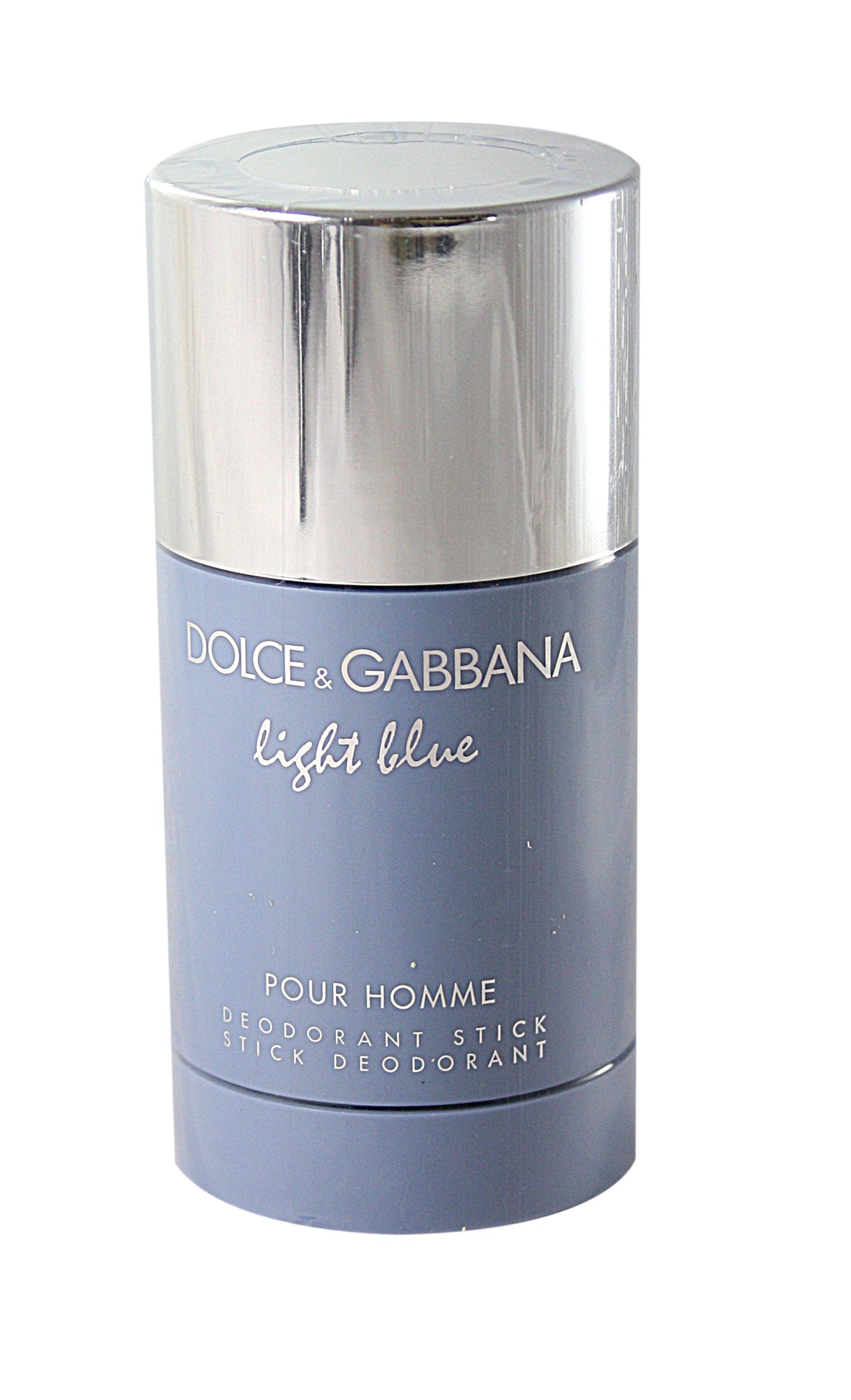 amazon com d g light blue by dolce gabbana for men deodorant stick 2 4 ounces deodorants and antiperspirants beauty
