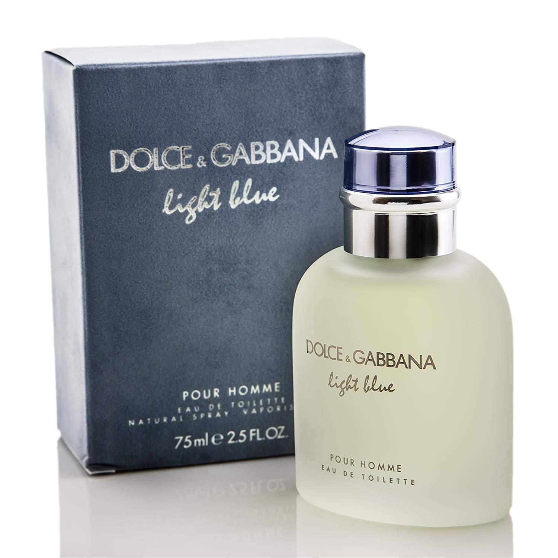amazon com light blue for men dolce gabbana 2 5 fl oz eau de toilette spray dolce gabbana health personal care