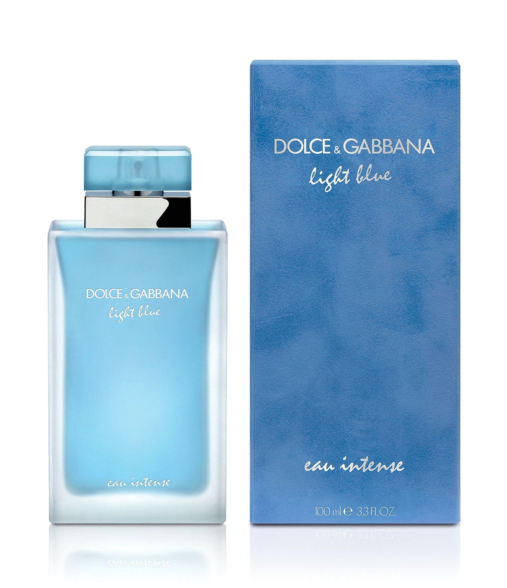 shop for dolce gabbana light blue eau intense eau de parfum spray at dillards