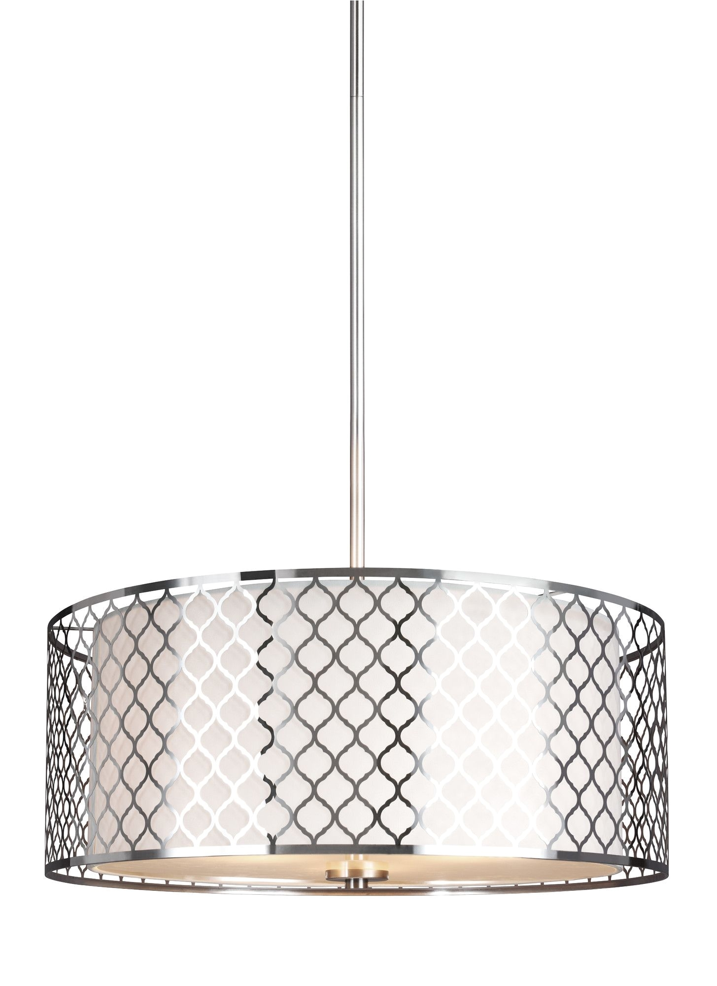 alamak 3 light drum pendant