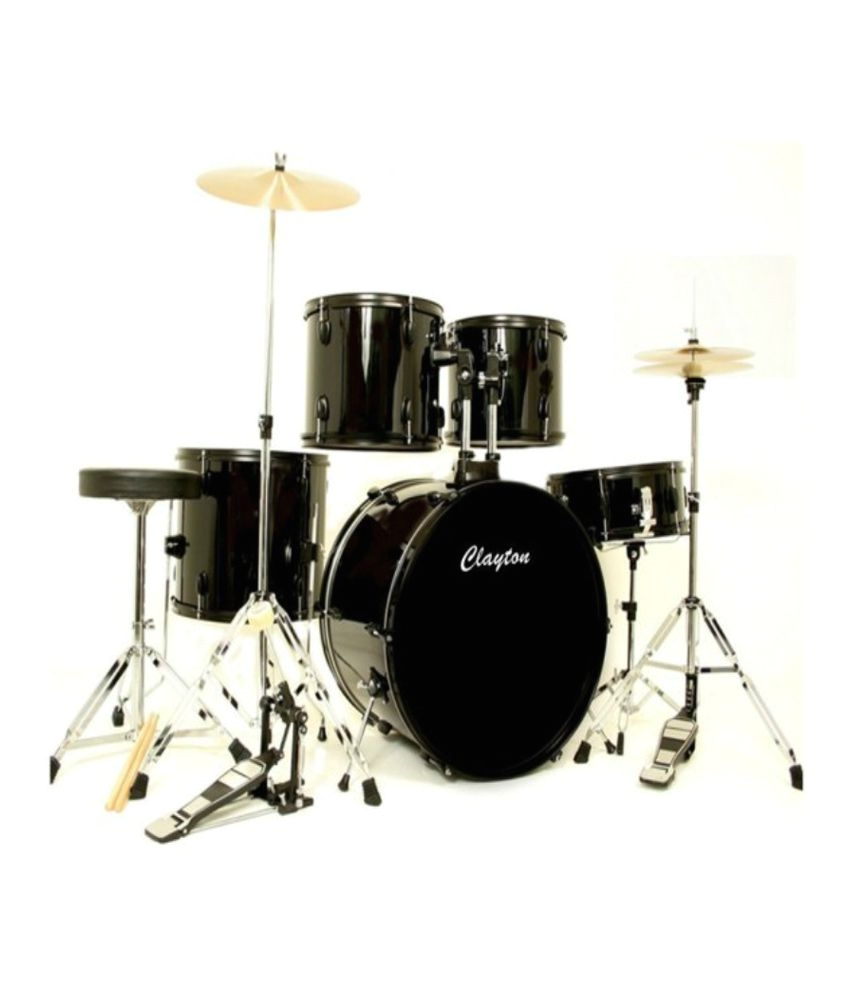 Drum Set Lights Clayton Drum Set Black Buy Clayton Drum Set Black Online at