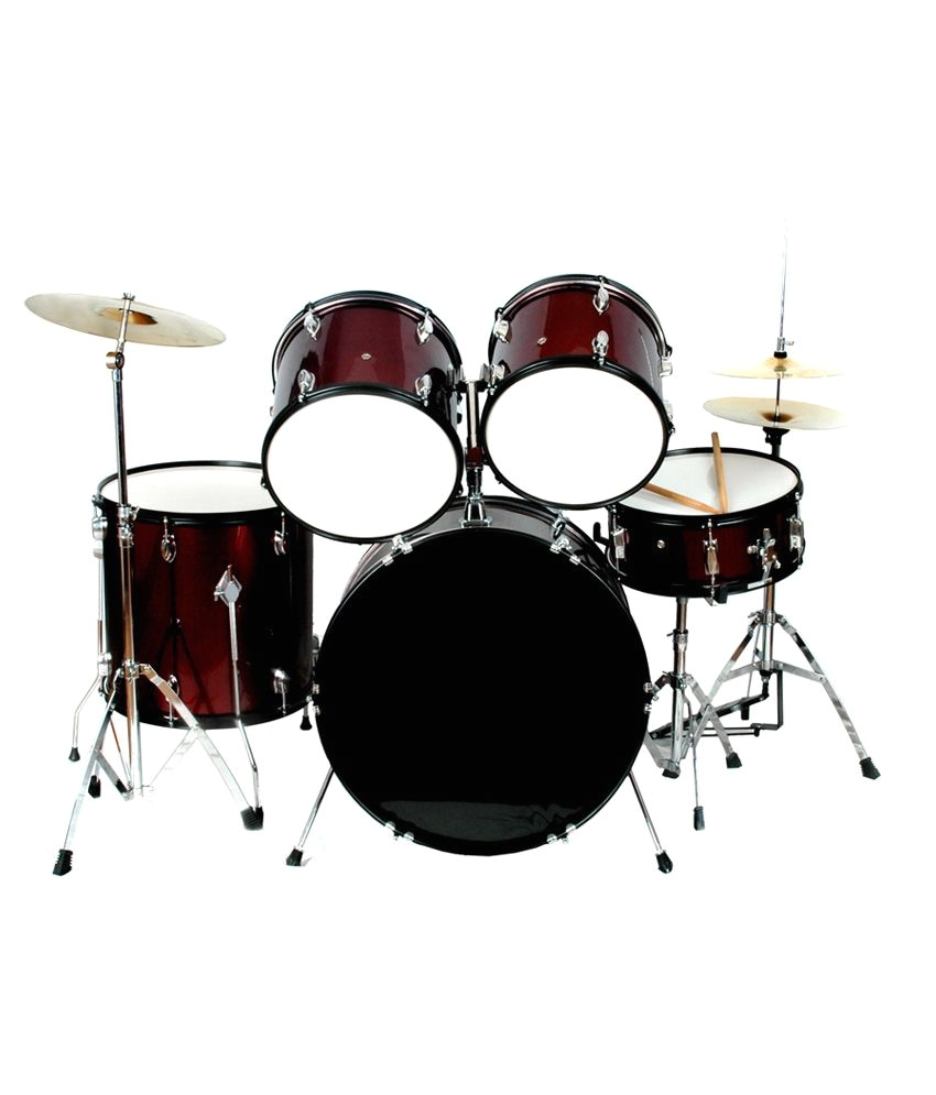 kadence 5p pro beginner drumset black