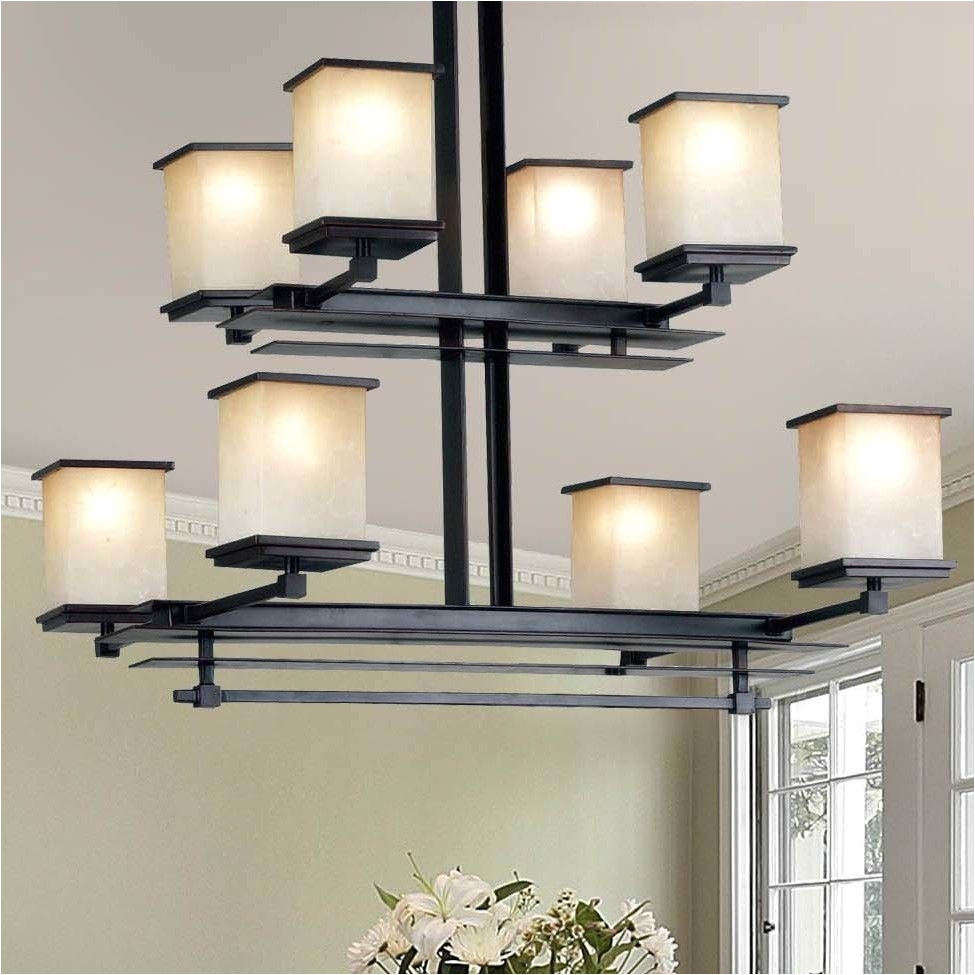 utah 8 light drum chandelier