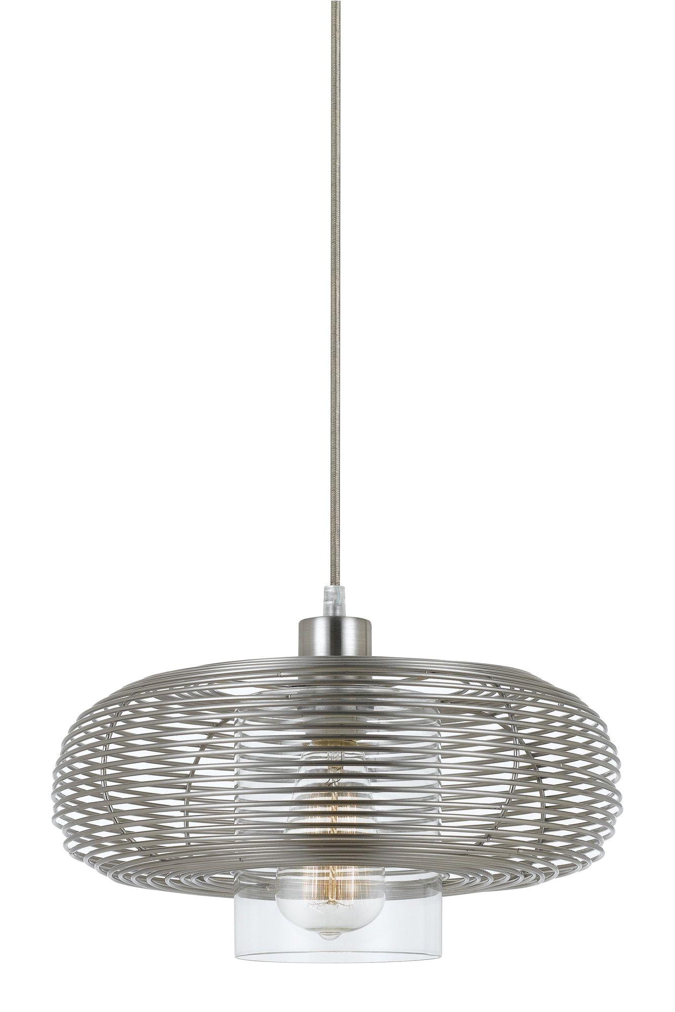 wilshire 1 light drum pendant