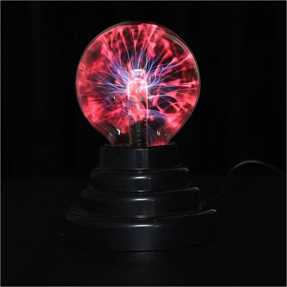 hot 3 inch magic plasma ball retro light kids room decor gift box lightning light lava