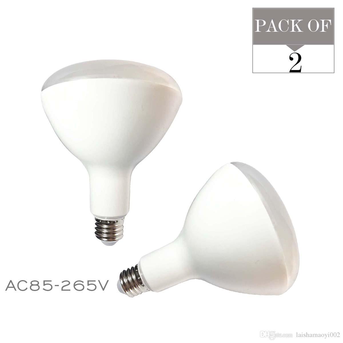 2 pack br40 led flood light bulb 85 265v 15w e27 high power lamp led lighting 2700k 3000k 5000k soft warm natural bubble ball led e27 led bulb lampe br40