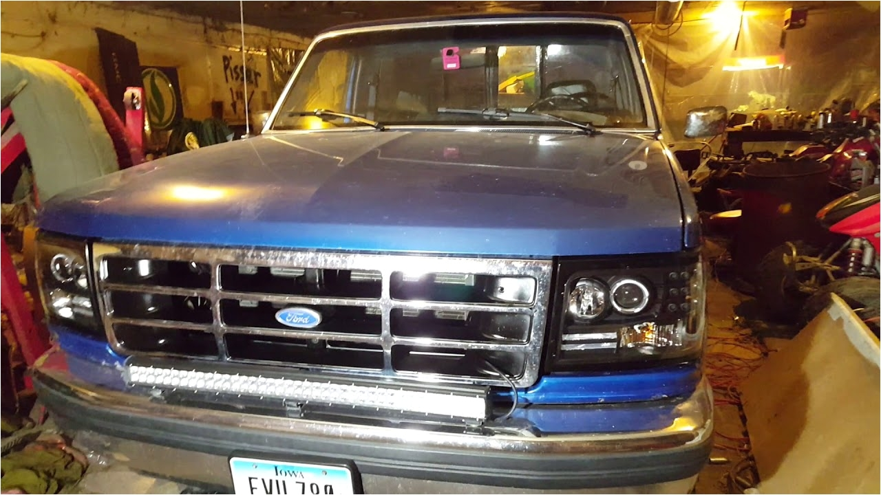 1990s f150 anzo halo headlights review