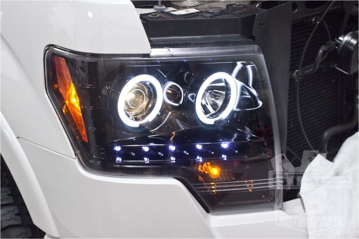 F150 Halo Lights 2009 2014 F 150 Headlights Tail Lights