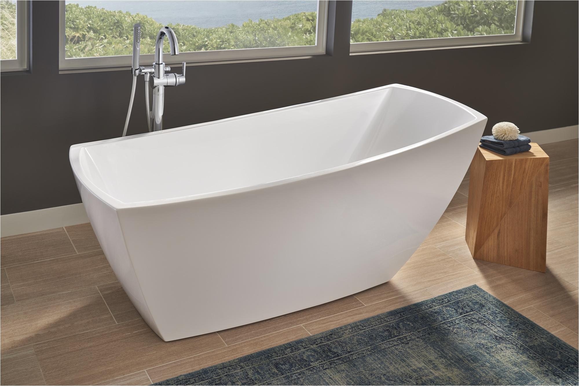 jacuzzi stella soaker tub makes a freestanding statement jlc online tubs bath jacuzzi
