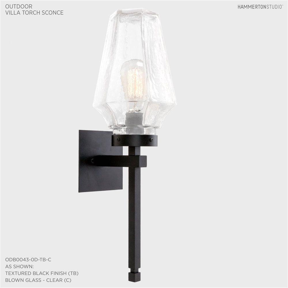 outdoor area lighting fixtures fresh outdoor villa torch sconce odb0043 0d