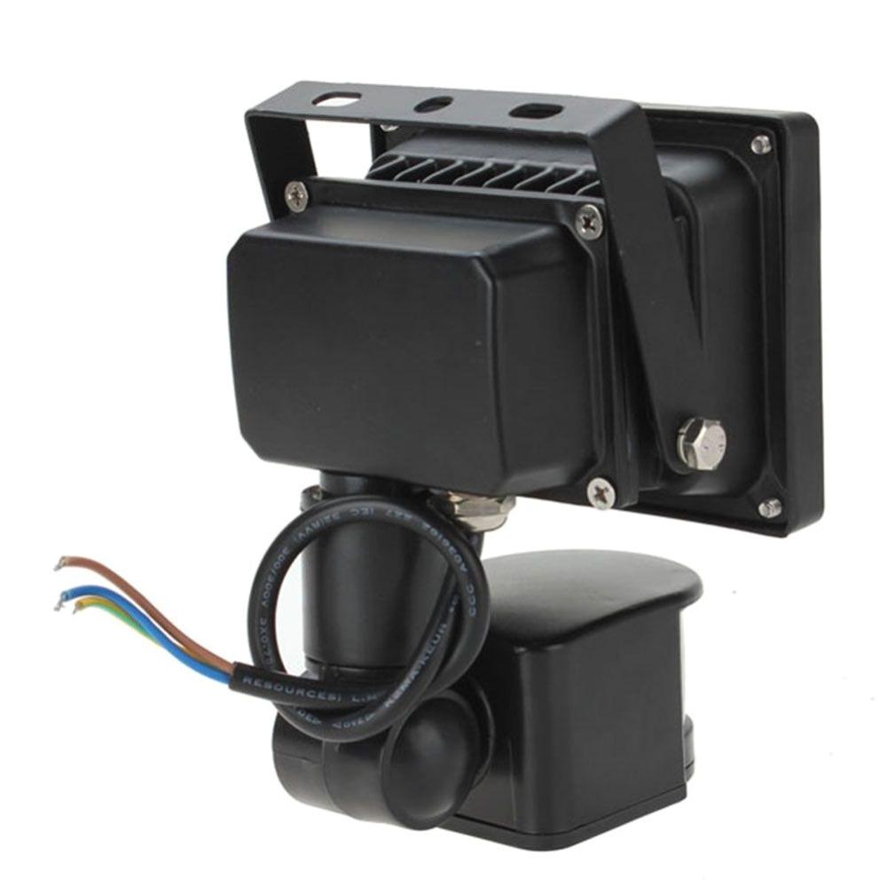 10w 20w 800lm pir motion sensor security led flood light 85 265v adjust low powe outside light flood lights in floodlights from lights lighting on