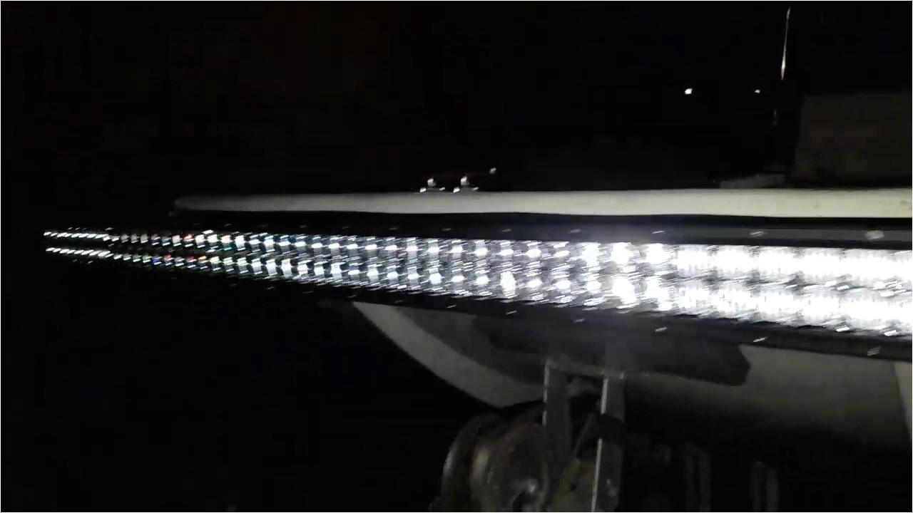 Floundering Lights Led Light Bar Flounder Rig Youtube