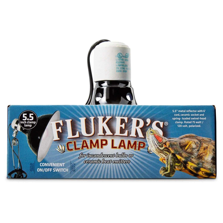 Fluker S 5.5 Clamp Lamp Flukers Turtle Clamp Lamp