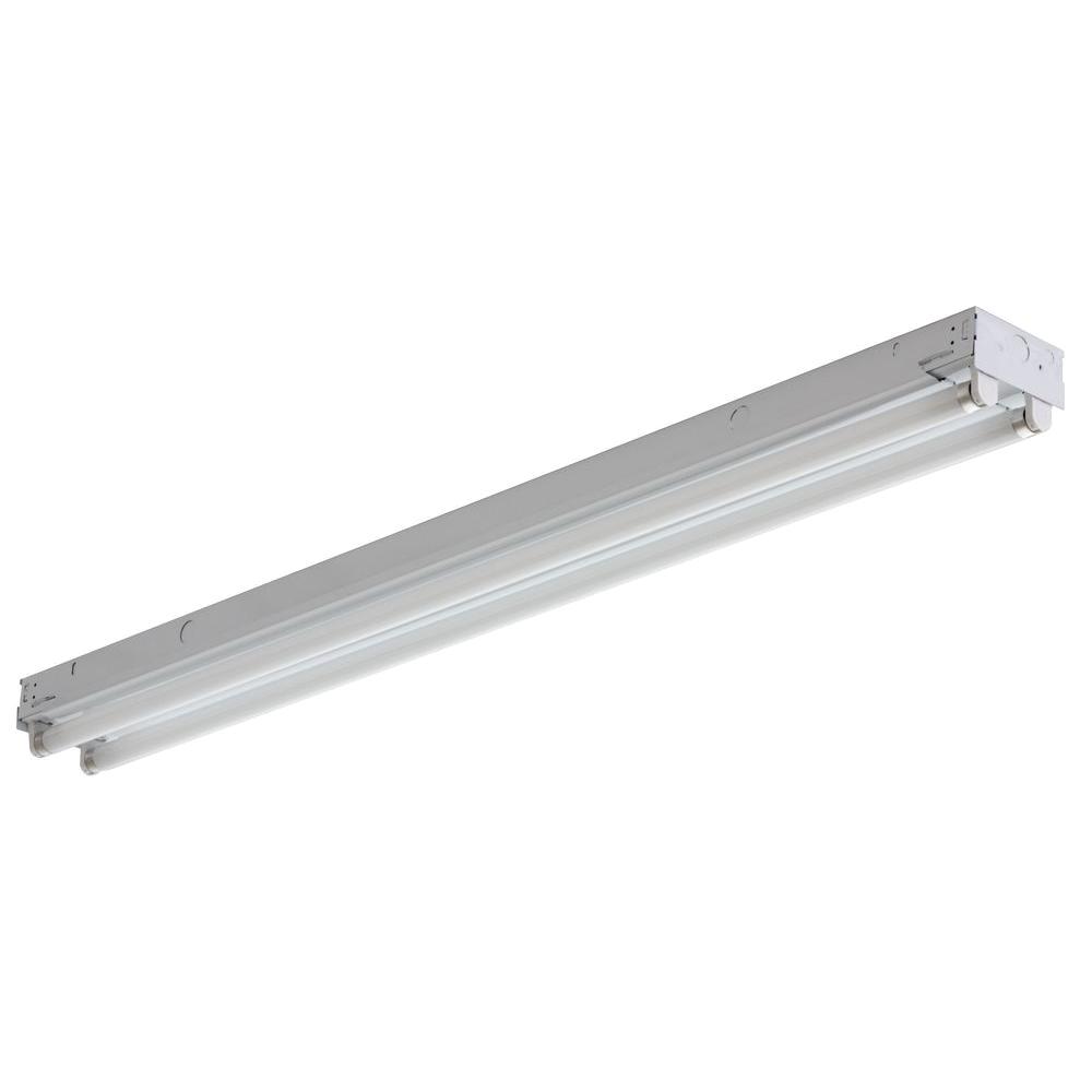 c 2 32 mvolt geb10is 2 light gloss white fluorescent strip light