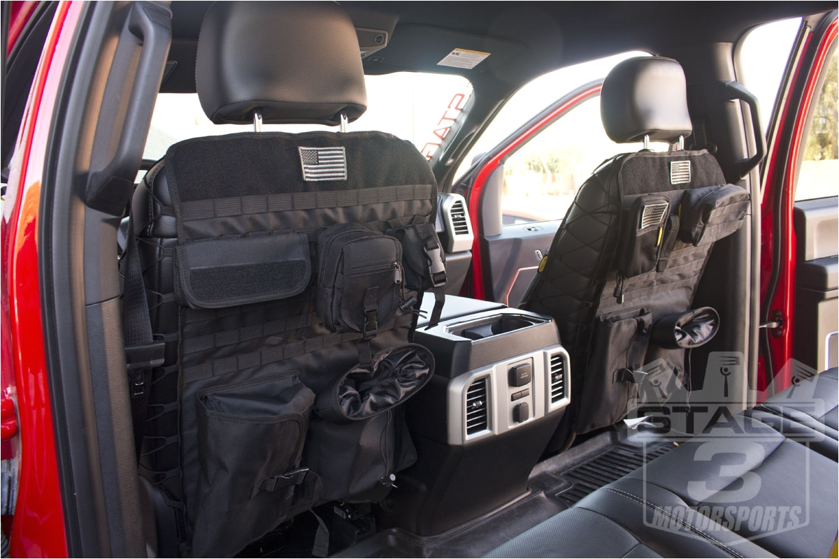 2015 2018 f150 tactical front seat cover